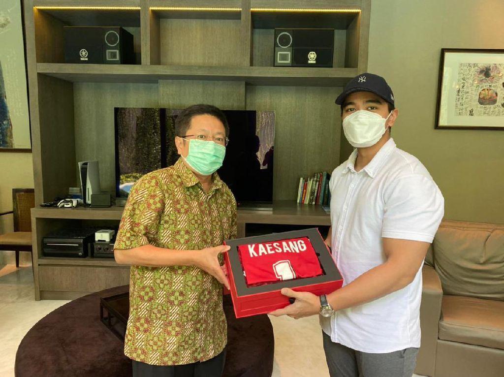Kaesang Ketemu Pemilik Bali United, Ada Apa?