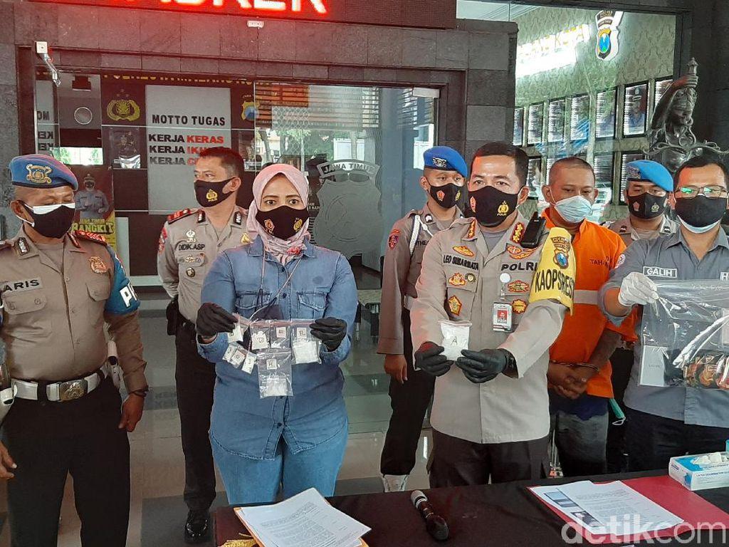 Kurir Sabu di Kota Malang Ditangkap, 1,61 Ons Sabu Disita