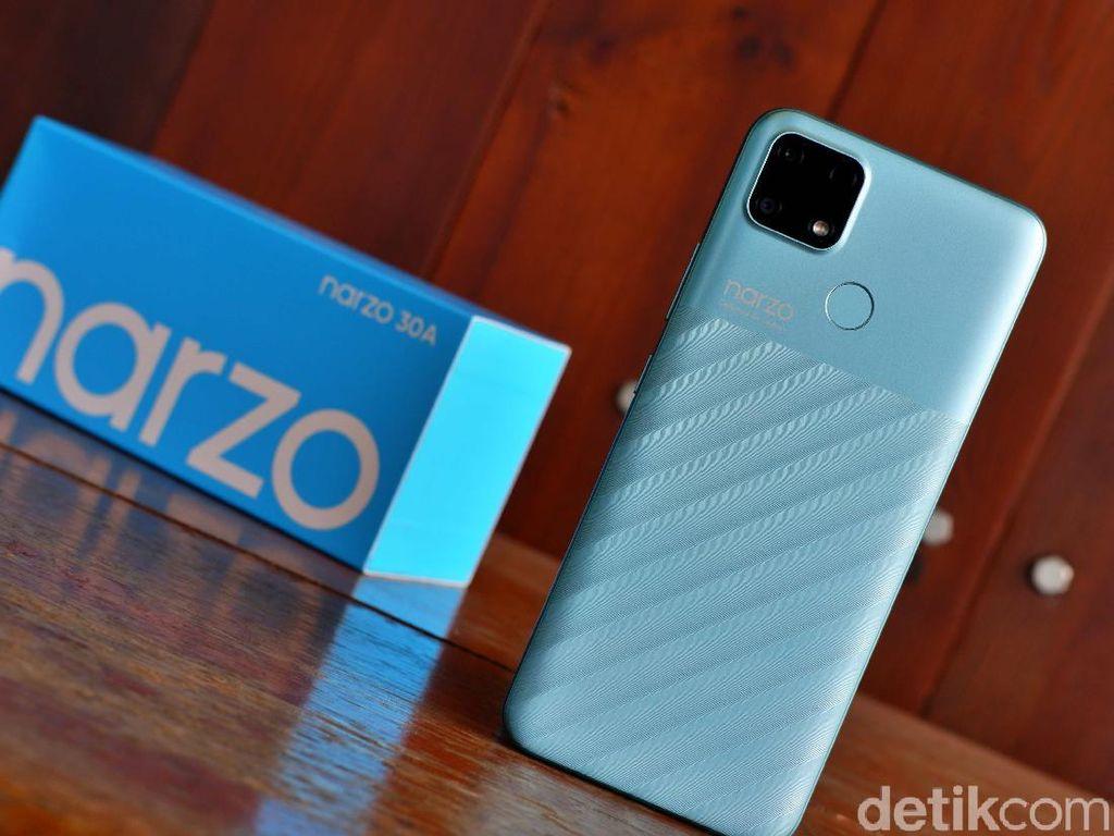 Review Realme Narzo 30A, HP Rp 1 Jutaan Baterainya Awet Seharian