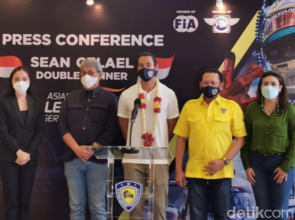 Kemenangan Sean di Asian Le Mans, Awal Manis IMI-nya Bamsoet