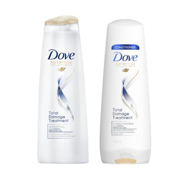 Shampo dan kondisioner Dove/shopee.co.id/watsonsid