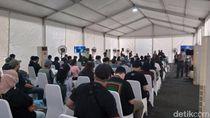 Hari Ketiga Vaksinasi Wartawan, Begini Suasana di GBK Senayan