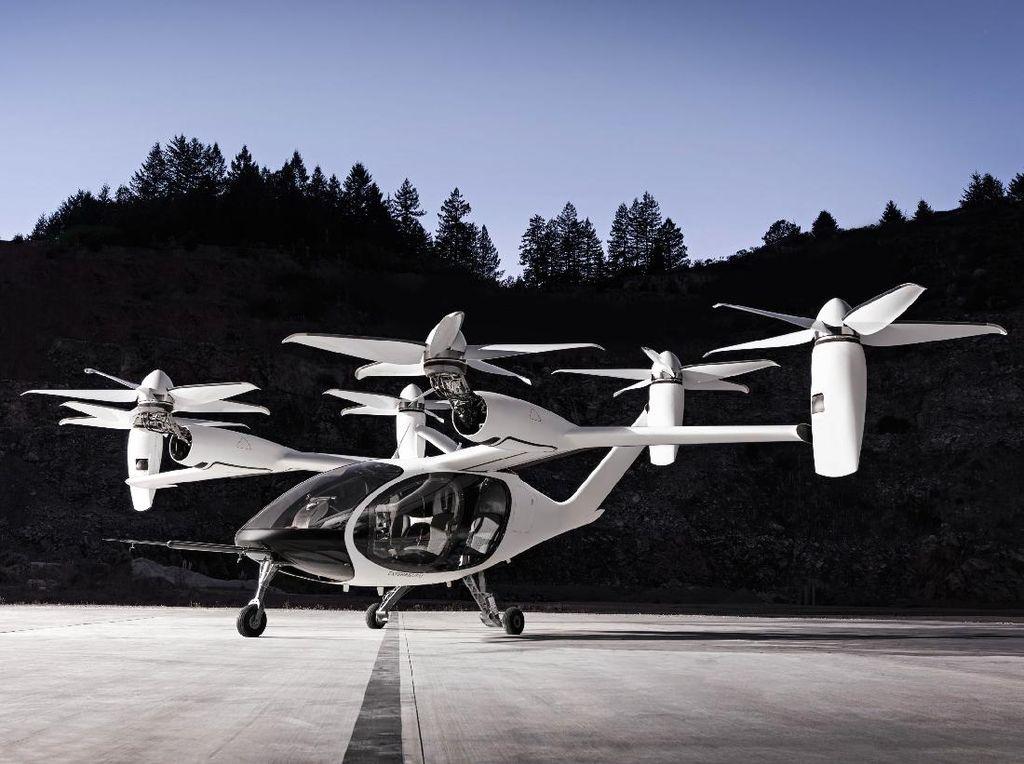 Siap-siap! Taksi Terbang Akan Layani Penumpang Pada 2024
