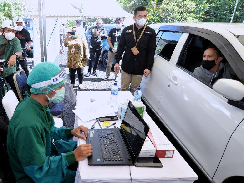 Di Bali Ada Vaksinasi COVID-19 Walk-in dan Drive Thru, Pertama di ASEAN