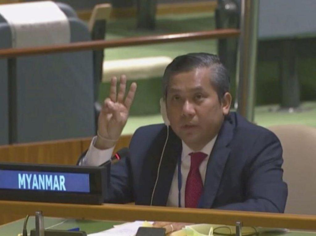 Dubes Myanmar untuk PBB Harap Publik Global Ikut Desak Junta Militer