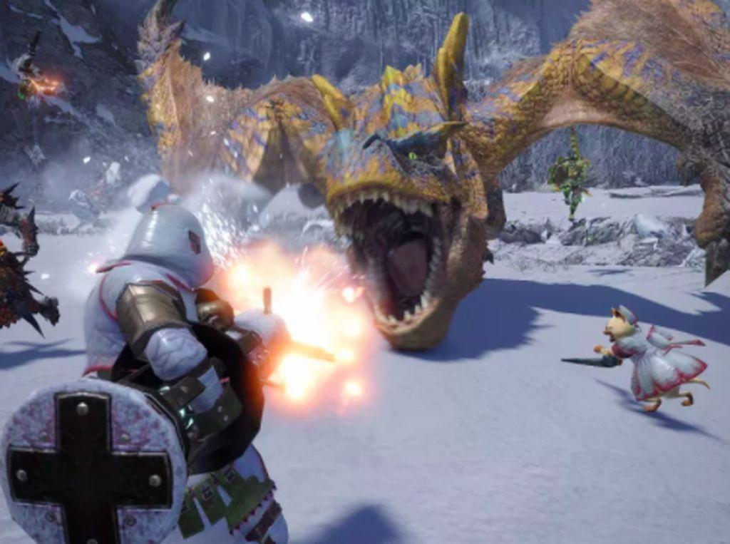 Asyik, Game Monster Hunter Rise Dipersiapkan Buat PC