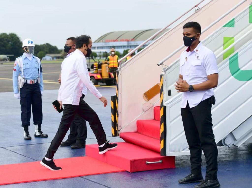 Bertolak ke DIY, Jokowi Akan Resmikan Kereta Rel Listrik Yogyakarta-Solo