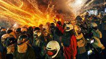 Taiwan Punya Pesta Kembang Api Paling Berbahaya di Dunia
