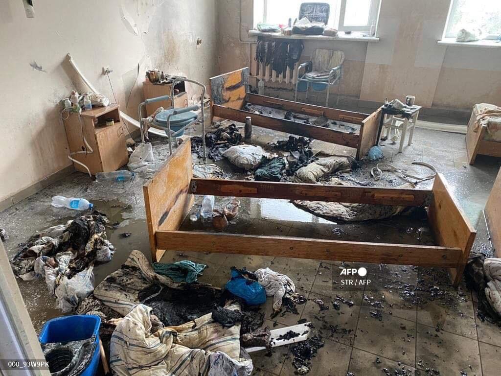 RS di Ukraina Terbakar, Seorang Pasien COVID-19 Tewas