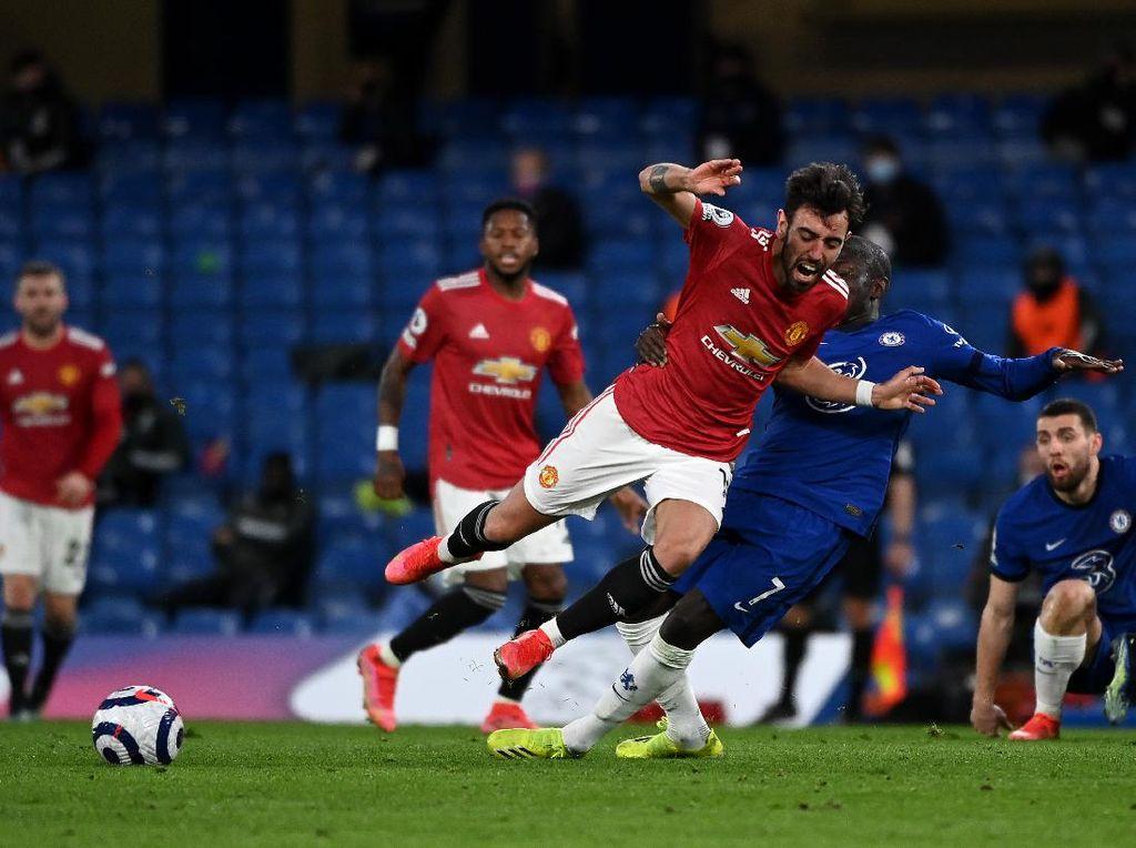 Chelsea Vs Man Utd Tuntas 0-0