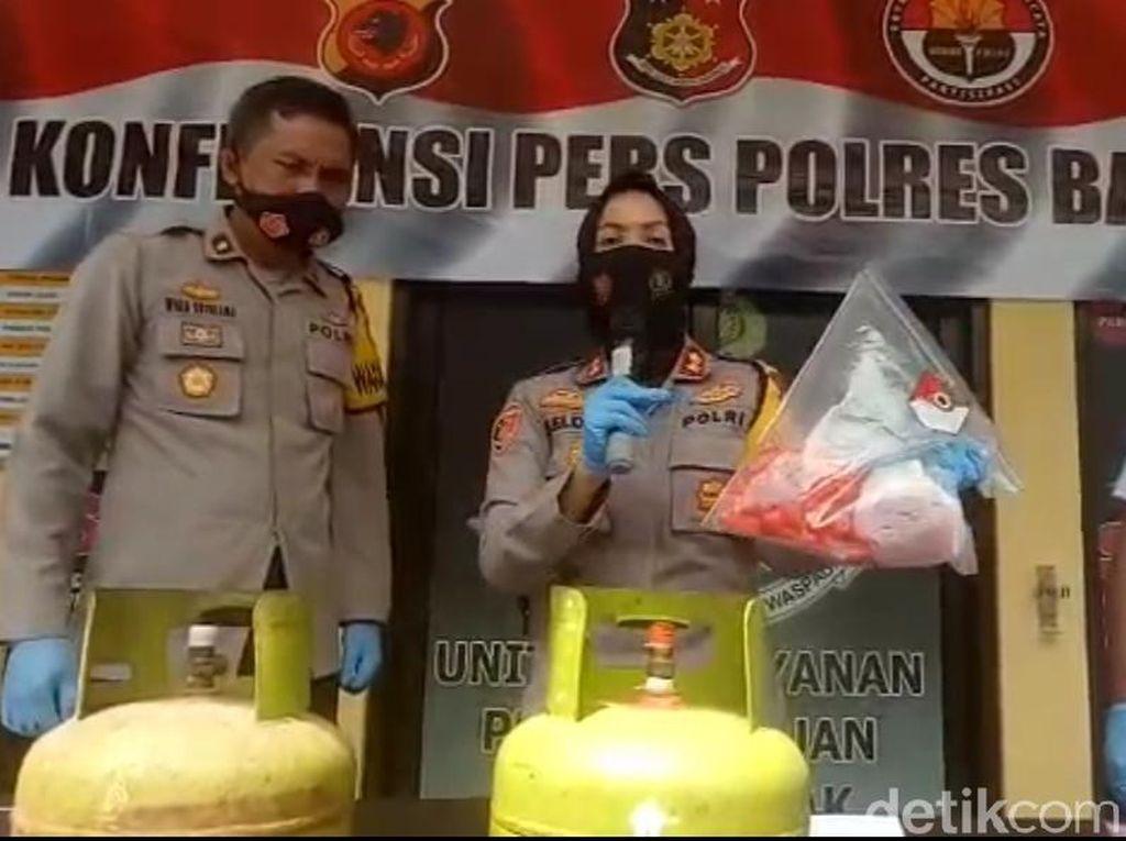 Polres Banjar Ungkap Penyelewengan Distribusi Gas LPG 3 Kg Bersubsidi