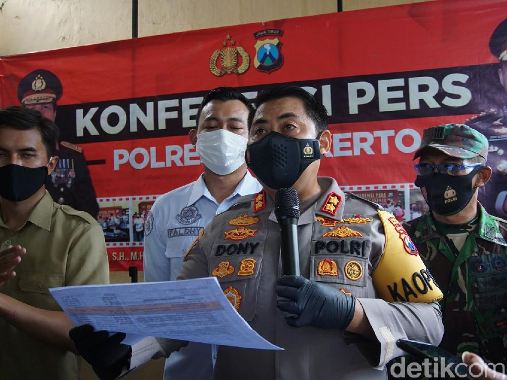 Kades Jadi Tersangka ke-8 Kasus Kerumunan Ribuan Buruh di Mojokerto