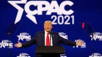 Kembali Muncul di Publik, Trump Sesumbar Akan Menangi Pilpres 2024