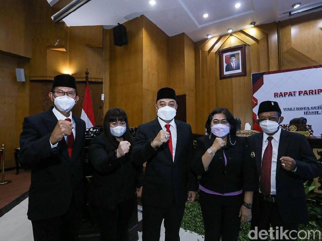 Ketua DPRD Surabaya: Warga Tunggu Tangan Dingin Eri Cahyadi-Armuji