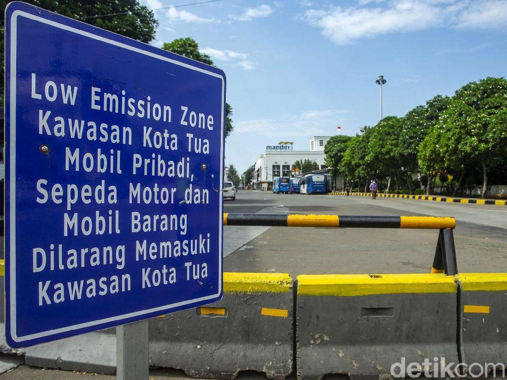 Kurangi Kendaraan di LEZ Kota Tua, Dishub DKI Atur Lalin Kampung Bandan