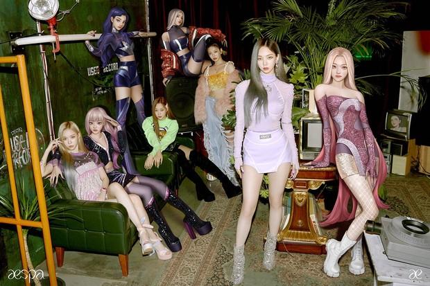 Aespa menjadi satu-satunya girlgroup yang memiliki Avatar di dunia virtual.