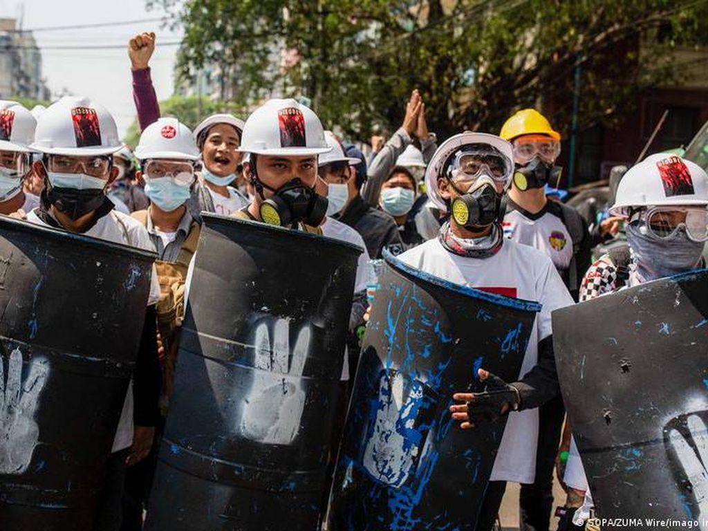 18 Demonstran di Myanmar Tewas, Uni Eropa Siap Jatuhkan Sanksi