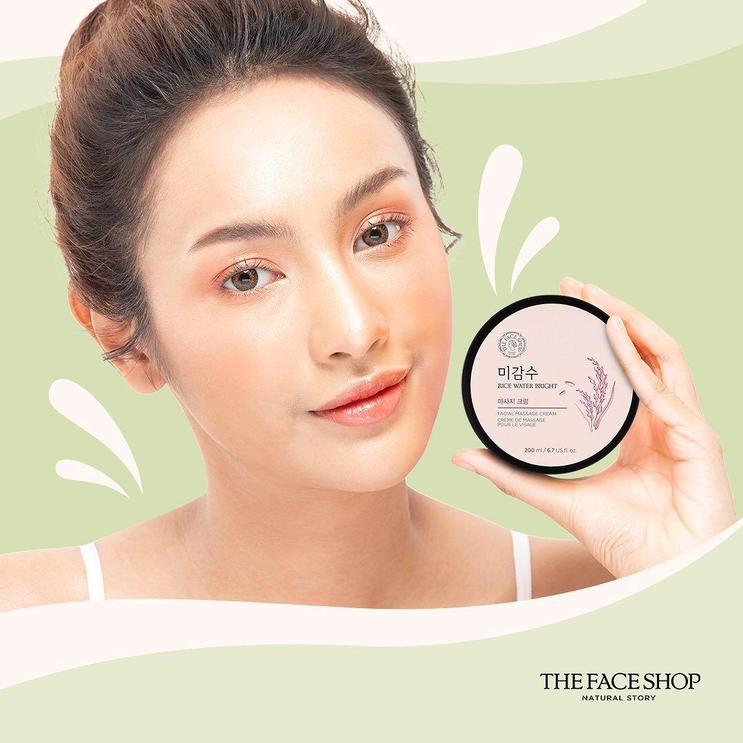 The Facial Shop Rice Water Bright Facial Massage