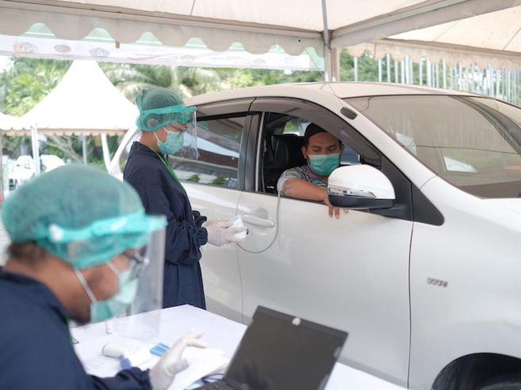 Syarat Vaksinasi Drive-Thru di Grab Vaccine Center Bali