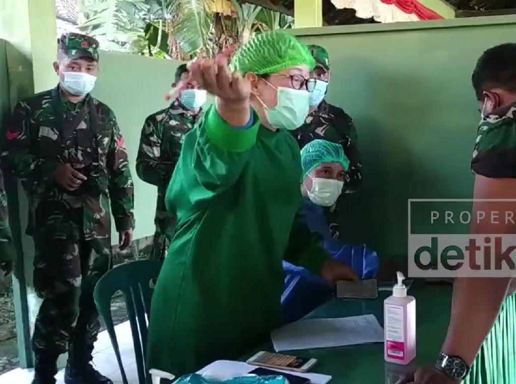 1.000 Prajurit TNI Bali Jalani Vaksinasi Covid-19