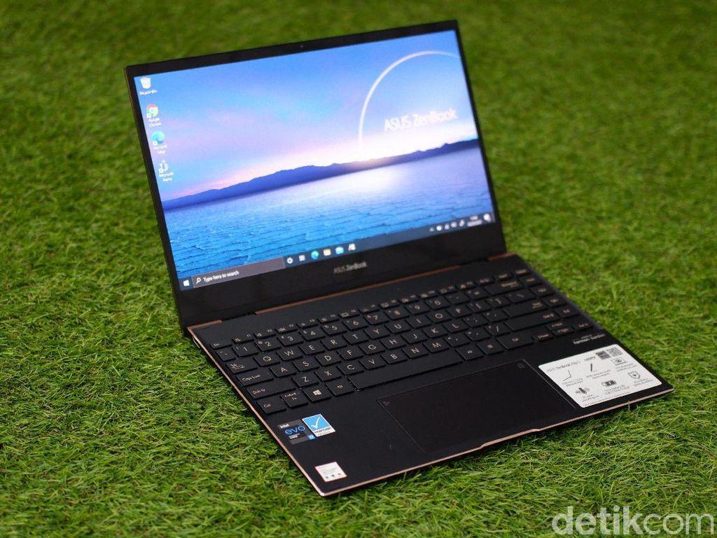 Review Asus Zenbook Flip S UX371: Laptop dengan Paket Lengkap