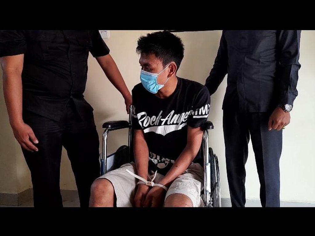 Dor! Polisi Tembak DPO Begal Sadis di Rejang Lebong Bengkulu