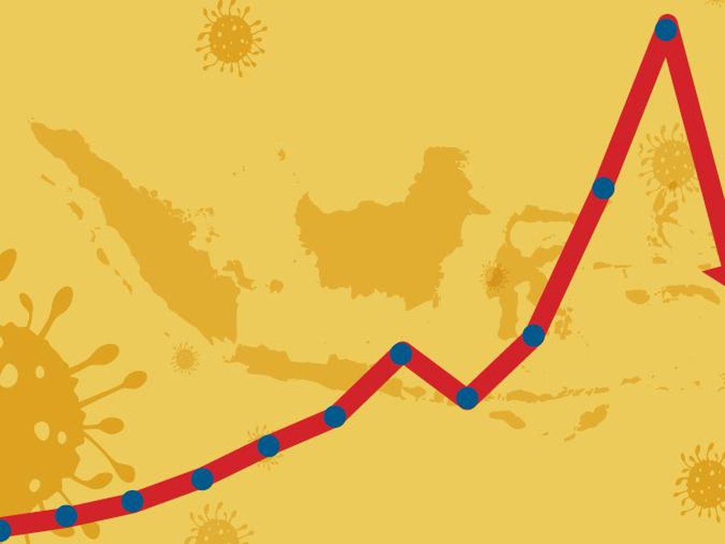 Data Corona Selama Setahun