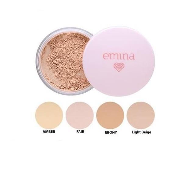 Emina – Bare With Me Mineral Loose Powder (sumber : lazada.co.id/alishashop)