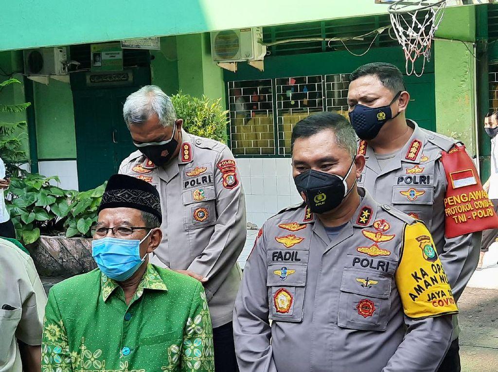 Kunjungi Muhammadiyah DKI, Irjen Fadil Minta Jajarannya Diberi Siraman Rohani