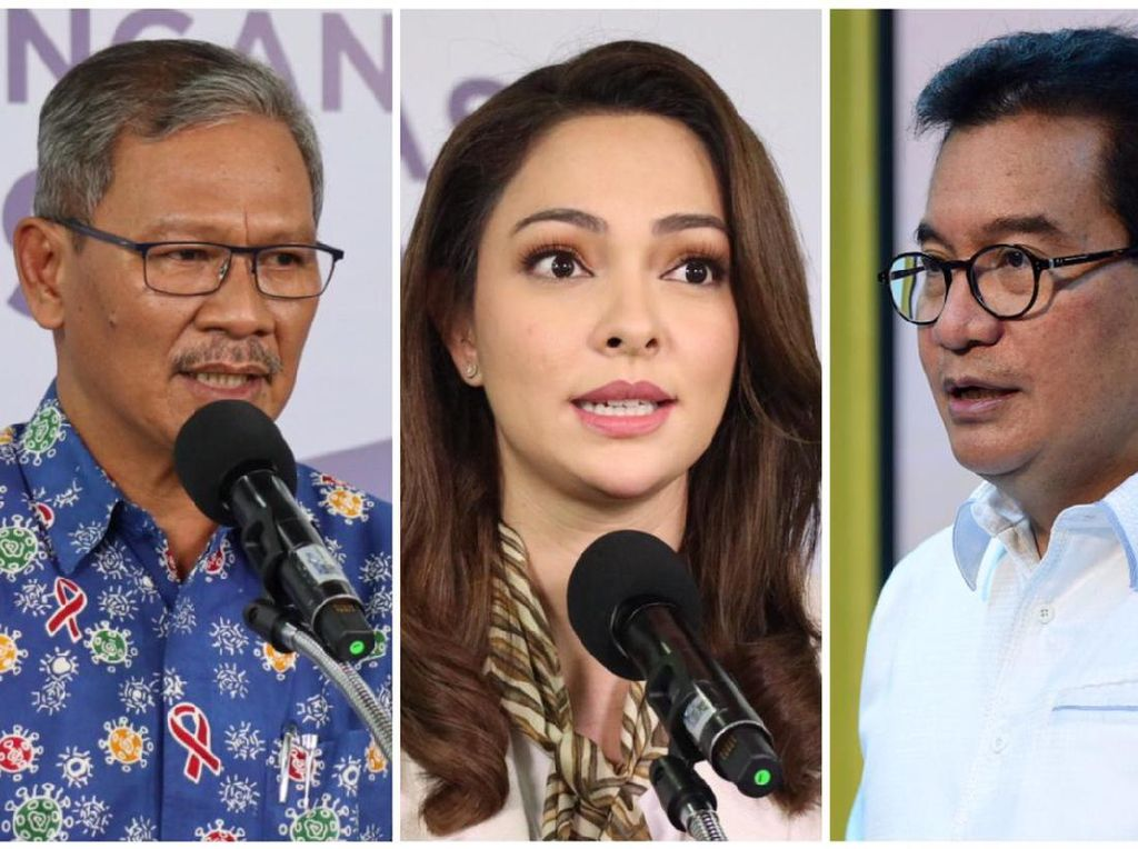 Gonta-ganti Jubir Corona, Achmad Yurianto hingga Reisa Broto Asmoro