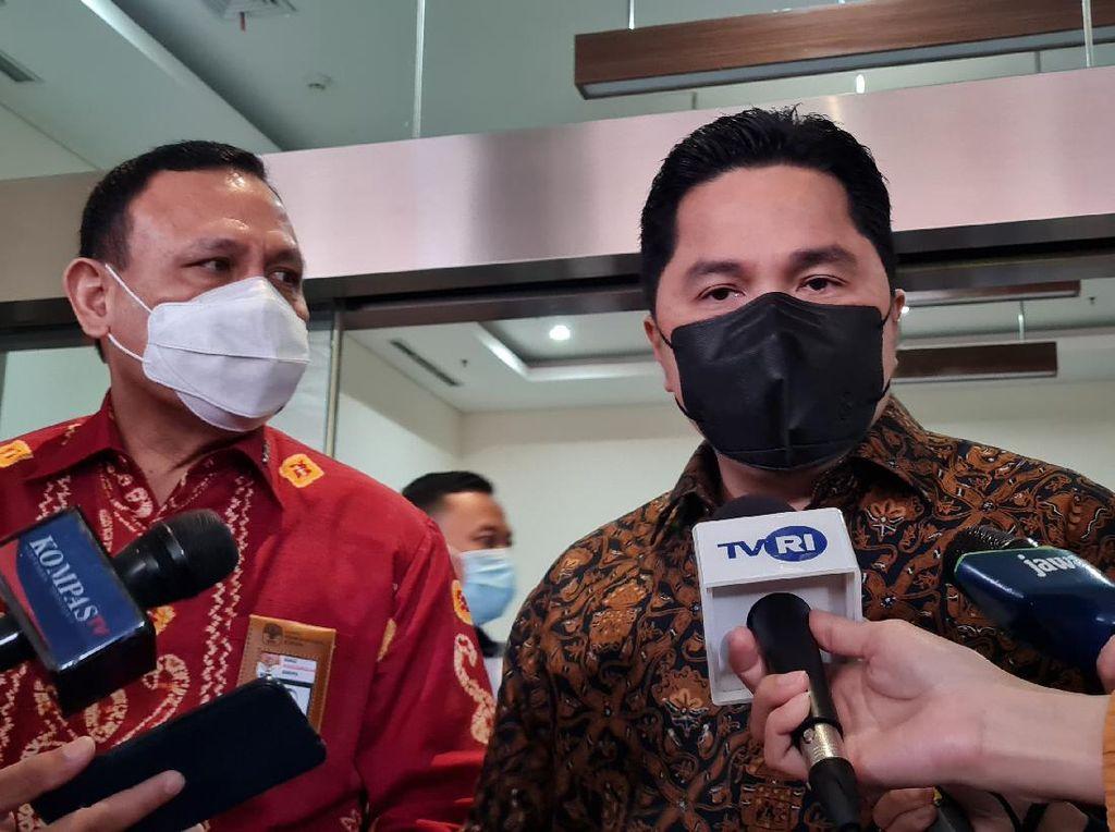 27 BUMN Teken Kerja Sama Pemberantasan Korupsi dengan KPK