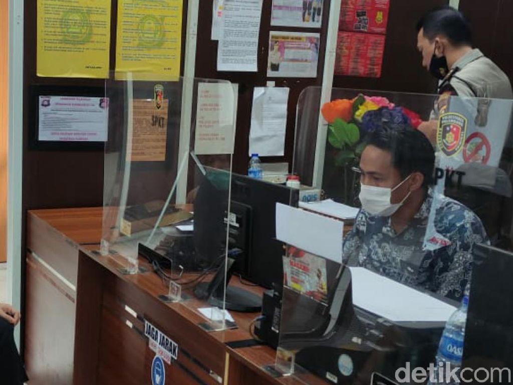 Diseret Suami Pakai Mobil, Seorang Istri di Palembang Lapor Polisi