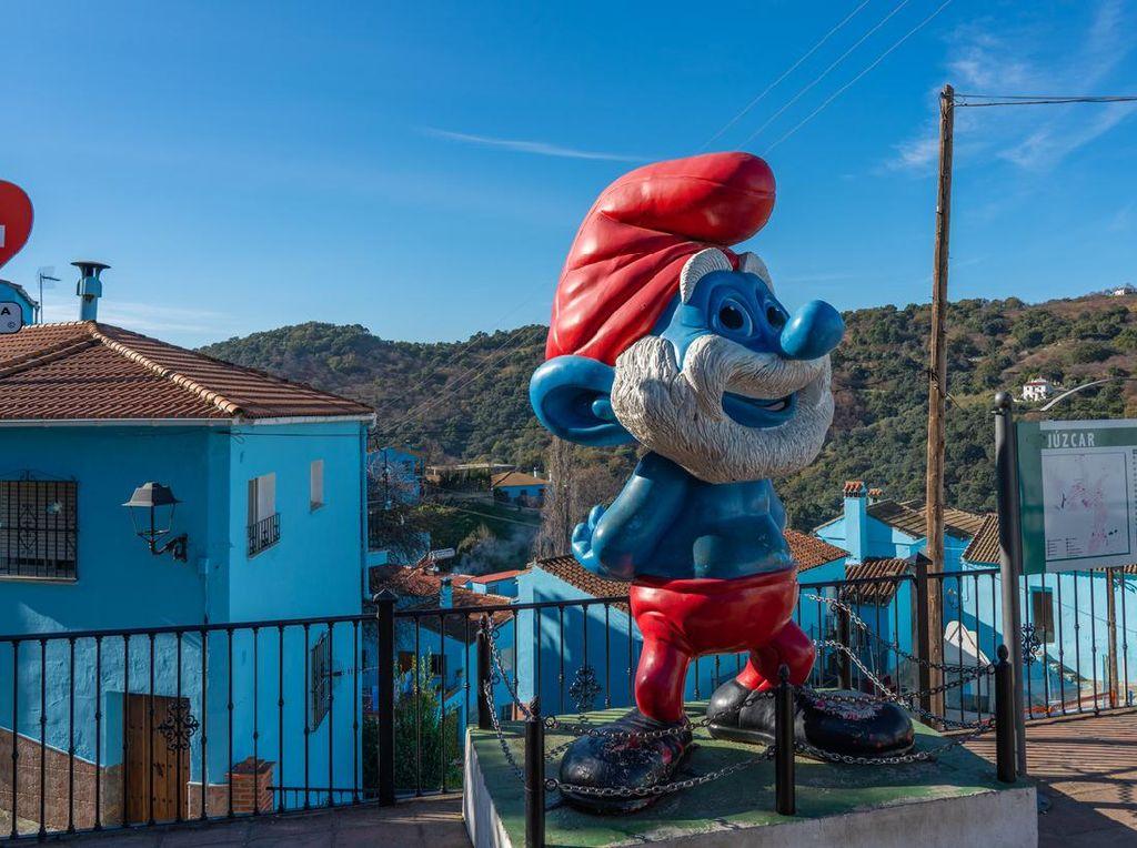 Juzcar, Si Kota Smurf yang Nyentrik
