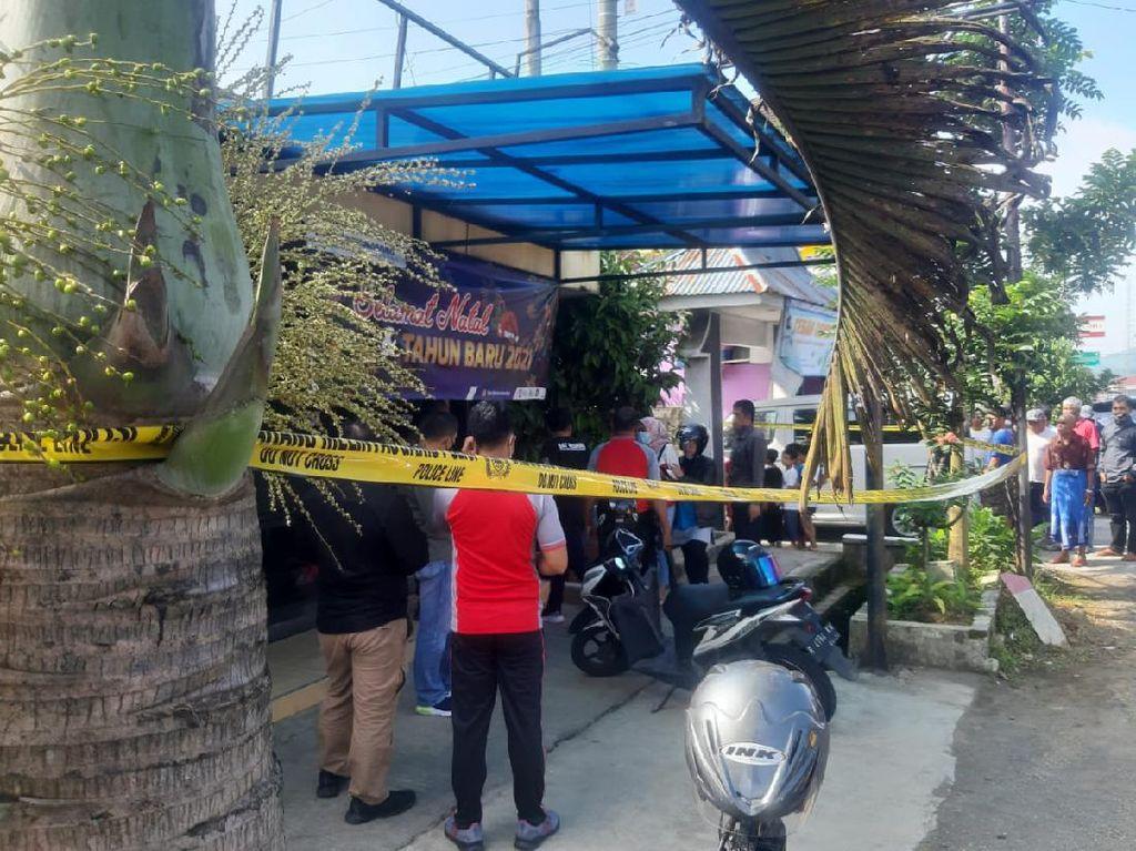 Rekaman CCTV Pria Bercelana Loreng Rampok Bank, Gasak Rp 100 Juta