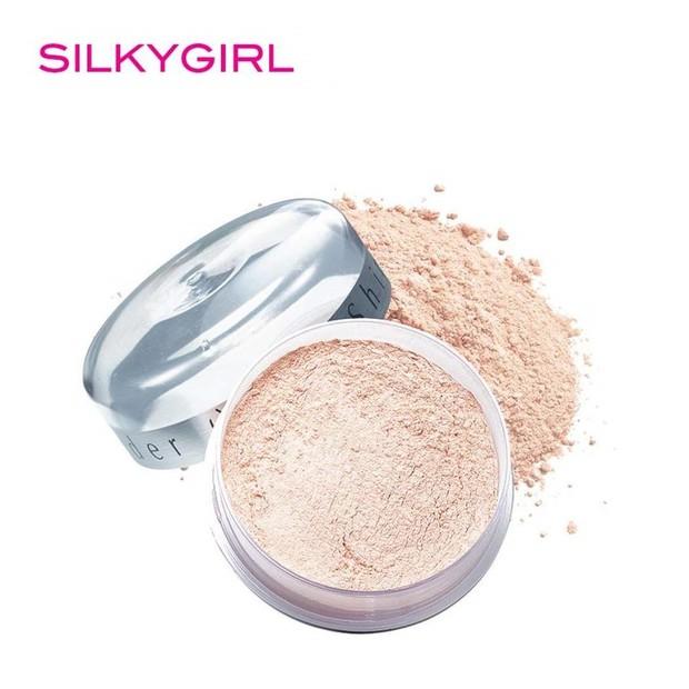 SilkyGirl Shine-Free Loose Powder (sumber : shopee.co.id/maya_puspitasari90)