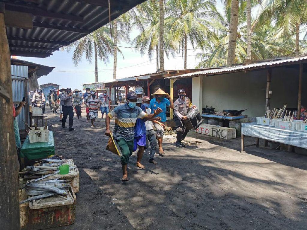 13 Desa Pesisir Trenggalek Rawan Tsunami, Lintas Instansi Gelar Simulasi