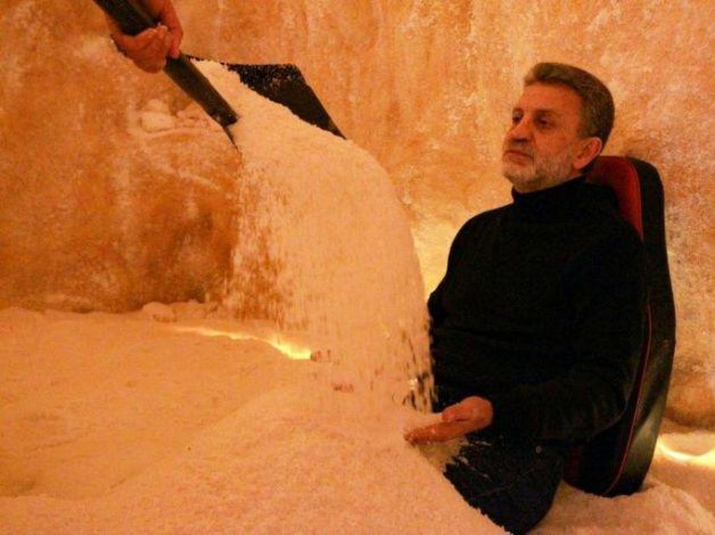 Spa Garam, Tempat Orang Libya Rileks Sejenak dari Kepenatan