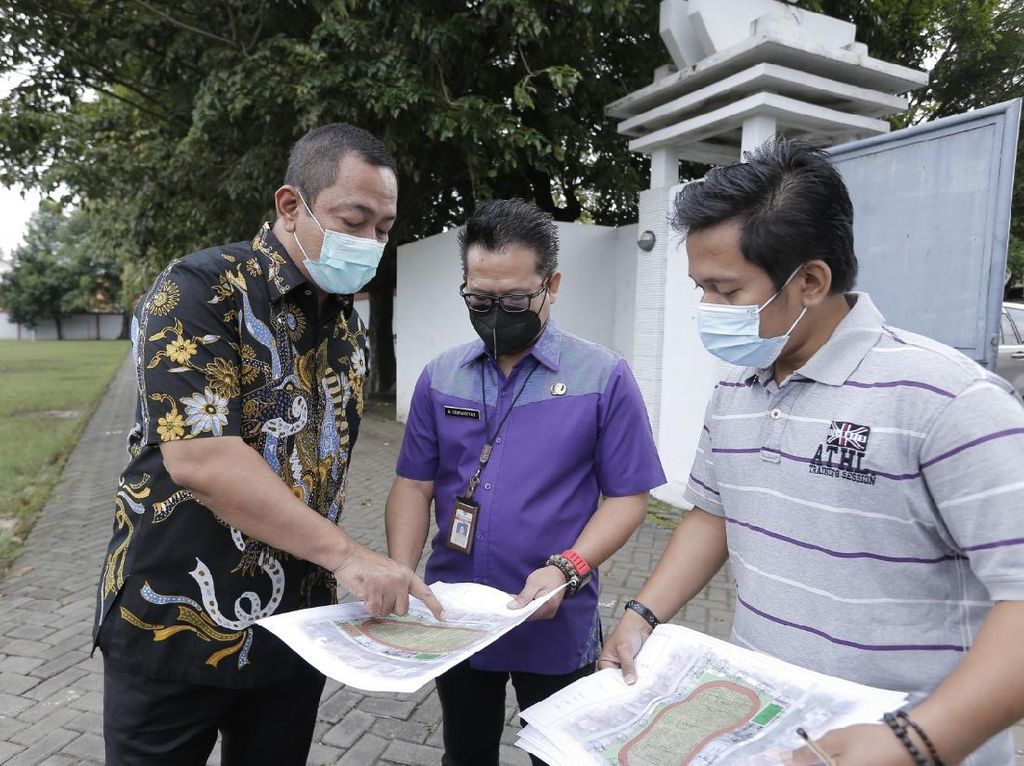 Walkot Semarang Berencana Bangun Sport Center di Lapangan Sidodadi