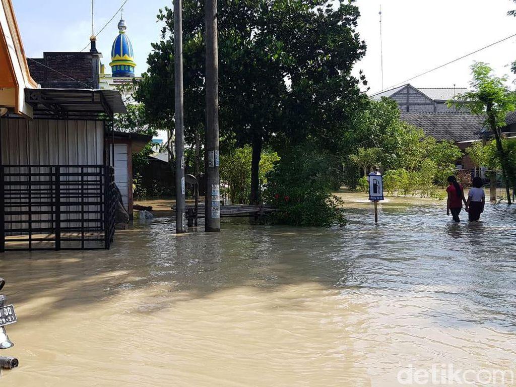 Sungai Pacal Bojonegoro Meluap, 4 Desa Terendam Banjir