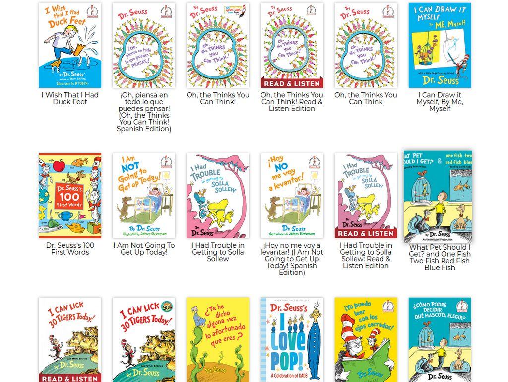 Buku Anak Dr Seuss Meroket Usai Picu Kontroversi karena Dianggap Rasis