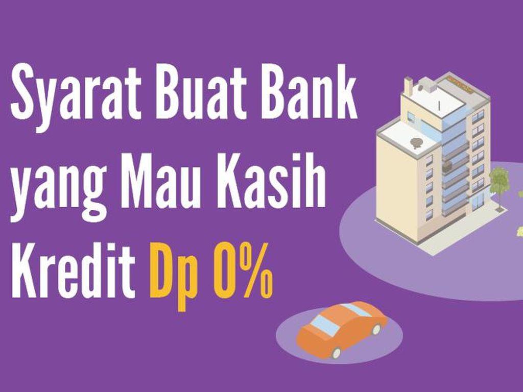Syarat Buat Bank yang Mau Kasih Kredit Dp 0%