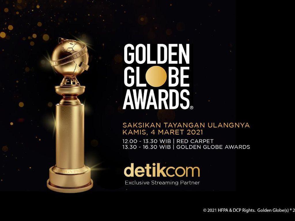 Saksikan Penghargaan Golden Globe Streaming di detikcom Hari Ini!