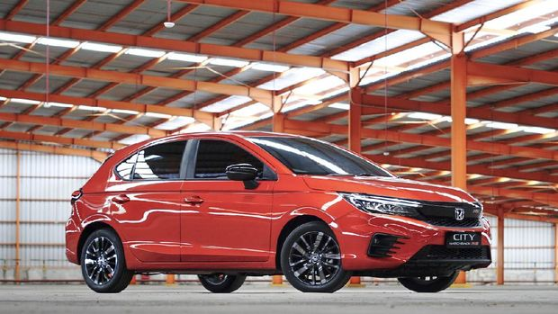 Honda City Hatchback meluncur di Indonesia pada 3 Maret 2021.