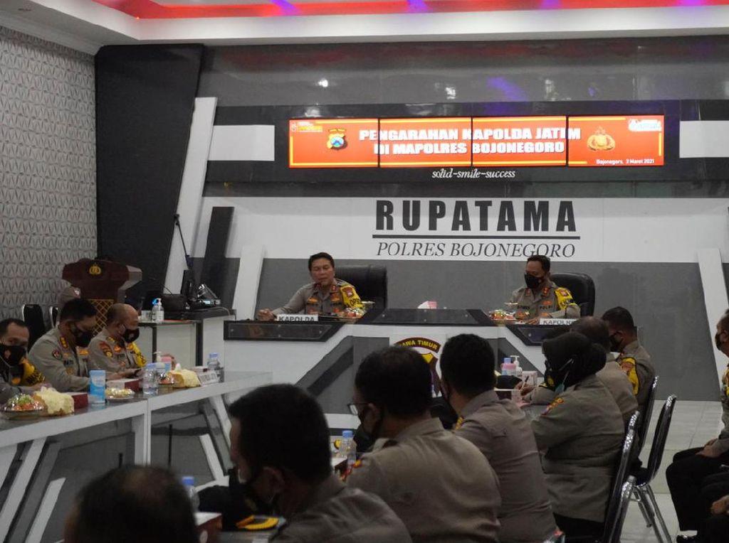 Kapolda Jatim Tanamkan Anggotanya Saling Bersinergi dan Bertanggungjawab