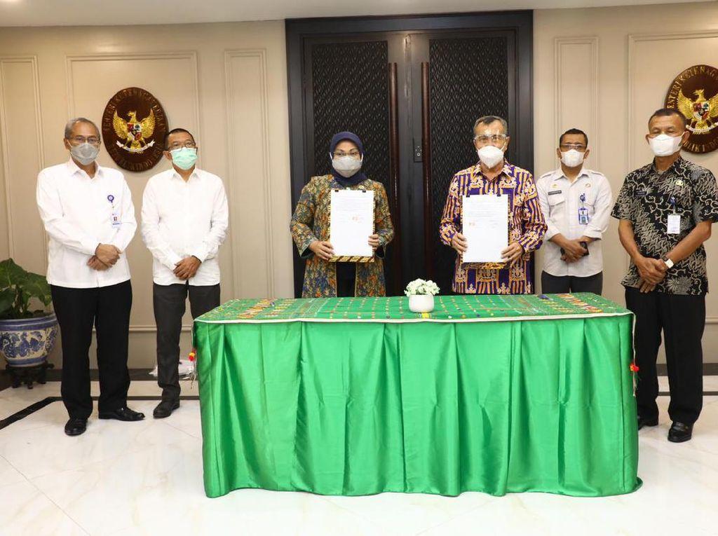 Kemnaker Terima Hibah 2 Balai Latihan Kerja dari Pemprov Riau
