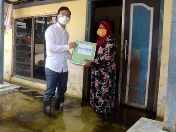 Korban Banjir di Kudus Dapat Bantuan