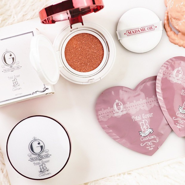 Madame Gie Total Cover BB Cushion/Sumber:instagram.com/madame.gie/