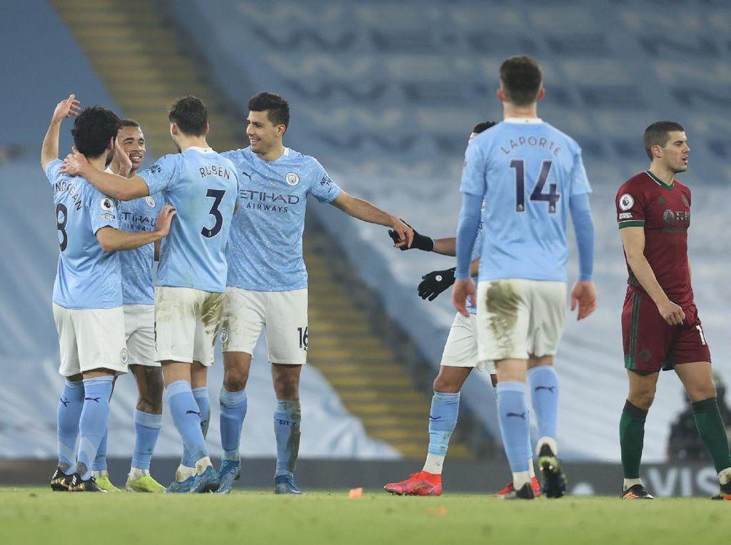 Video Gol-gol Man City Vs Wolves dan Statistik Singkatnya