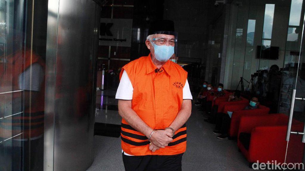 Pemeriksaan Bupati Nonaktif Banggai Laut