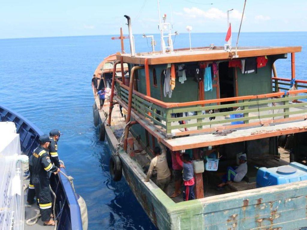 KKP Amankan 3 Kapal Sulut Langgar Fishing Ground di Halmahera